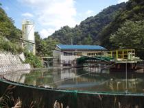 坑廃水処理施設